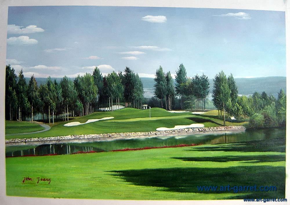 golf peintures l 39 huile achetez des lots petit prix golf peintures l 39 huile en provenance de. Black Bedroom Furniture Sets. Home Design Ideas
