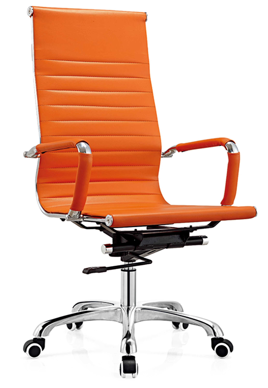 D818 Senlan Meubels Oranje Lederen Functionele Mechanisme