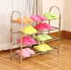 standing metal shoe rack designs chrome slide out shoe rack