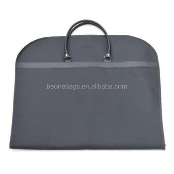 oem eco friendly breathable nonwoven suit cover travel garment bag foldable