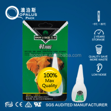20gram 401, 495 , 460,430 Fast Secure Fix Glue , in Double Blister Packing ,PE Bottle Super Glue