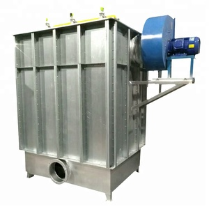 industrial dry cleaning machine air bag dust extractor
