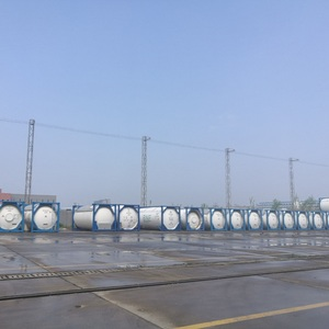 2000 liters Cryogenic ISO Tank for ammonia 20 ft chemical ISO Tank Container