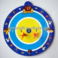 Full color printing Magnetic dart game with magnetic darts / EVA foam dart board / kids dart boards