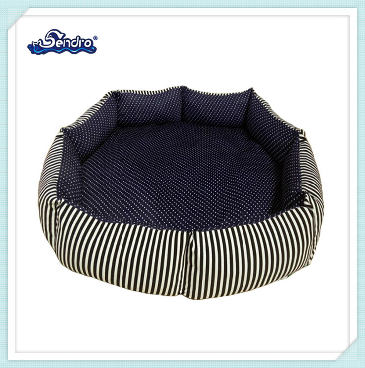 export canvas fabric durable animal nest stuffed pet bed