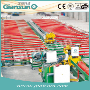 Made in China Power drive aluminum extrusion handling table machine from famous supplier