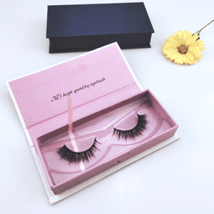MLSD OEM Private Label Synthetic Silk Eyelashes Faux Mink Strip Lashes