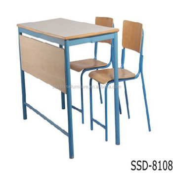 Superieur Best Selling School Furniture 2 Seater School Table Bench For Sale