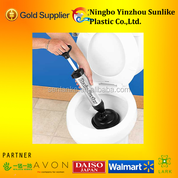 2014 hot High-efficiency manual toilet drain buster as seen on tv