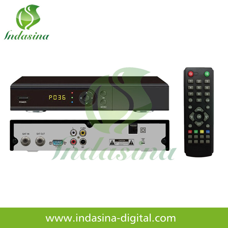 Cs protocal dth set top box Ali 3510C H.265 HEVC multistream IPTV satellite receiver