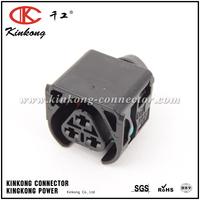 3 pin Genuine BMW female waterproof socket housing connector 12527519996 ES#2848393 12521437985