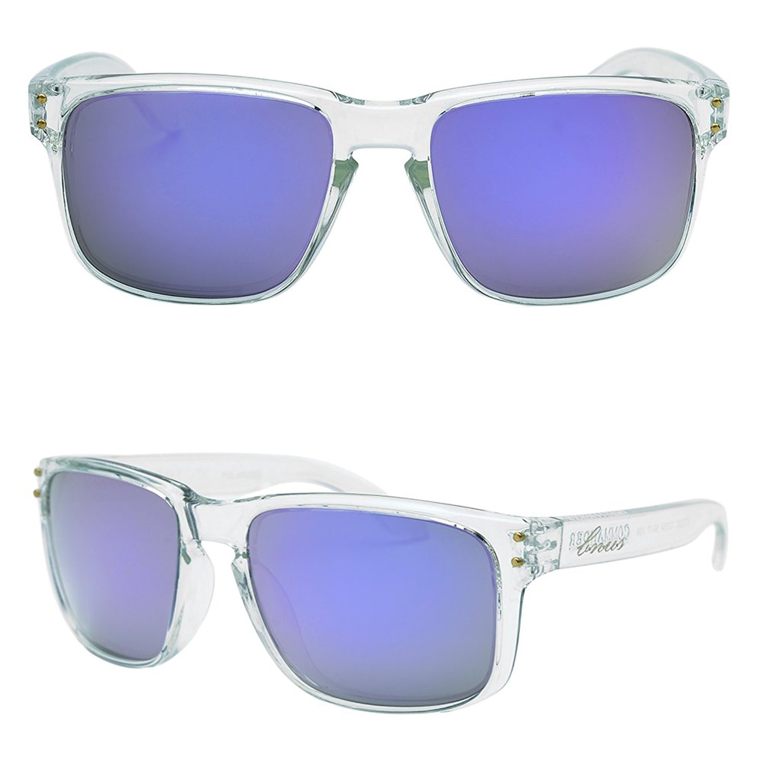 1c7606ae4b1 Get Quotations · BNUS Italy made Classic Sunglasses Corning Real Glass Lens  w. Polarized Option (Frame