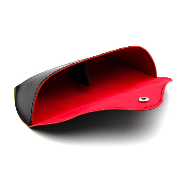 Good Quality Low Price Soft Leather Sunglasses Case
