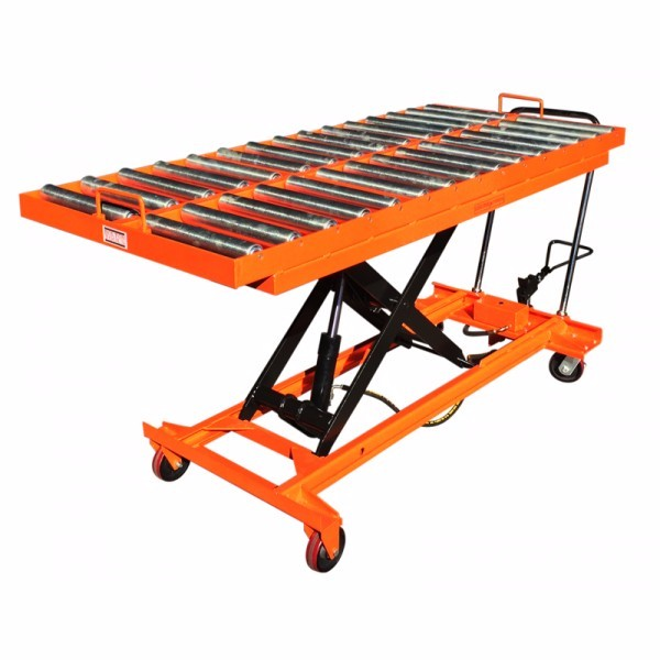 Hydraulic Manual Roller Top Scissor Lift Table Buy
