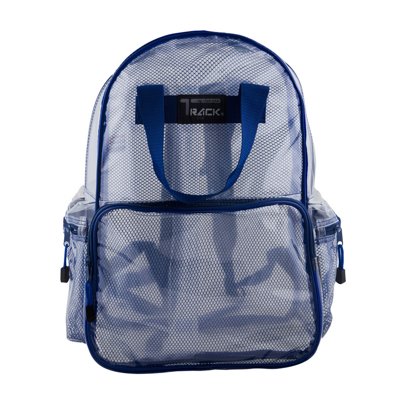 8c9e097d35 Get Quotations · New 2015 Fashion Clear Transparent PVC Backpack for  Teenagers Outdoor Backpacks with Color Trim