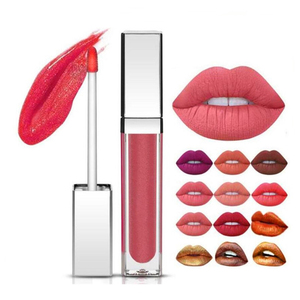 Sexy girls matte lipstick many colors make your own lipstick
