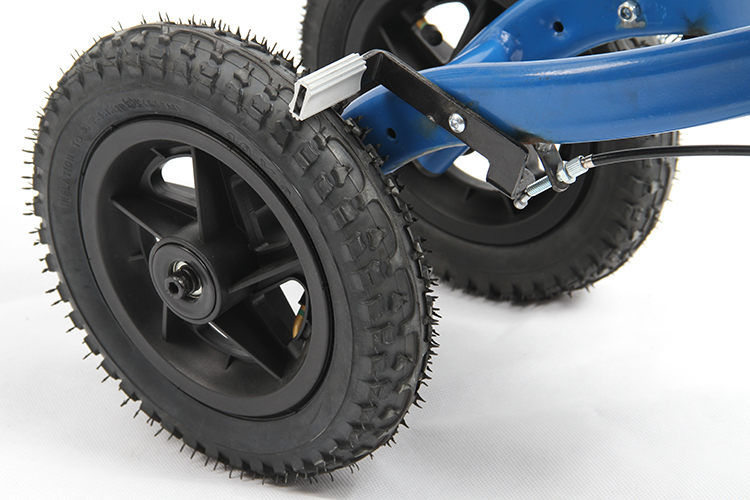 Cheap Auto Tires >> Medical 4 Wheel Pneumatic tire All Terrain Knee Scooter Walker for Outdoor Use Lightweight ...