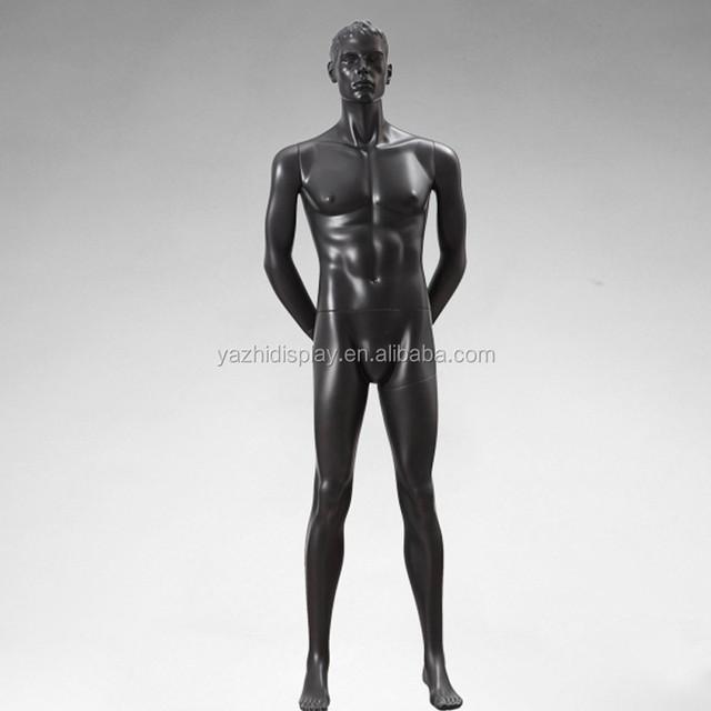 Fashion Black Male Adjustable Mannequin And Dummy Dress Form
