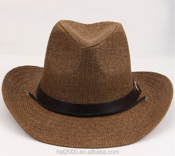 bbe63cd5 China foam stetson cowboy hat new style straw western beach cowboy hats  wholesale promotion straw cowboy