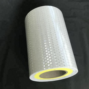 White prism reflective sheet for road barrier LDPE delineator