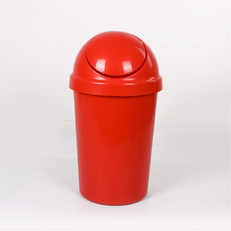 Plastic Swing Lid Trash Can 13 Gallon,Trash Can 13 Gallon/