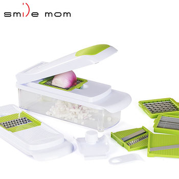 Top product 2019 Kitchen Gadgets Onion Cutter Vegetable Food Chopper Slicer