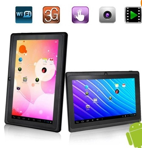 new models tablets pink tablet pc for kids education q88 tablet pc