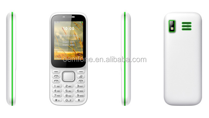 China unlocked old people used mini cell handset mobile phone