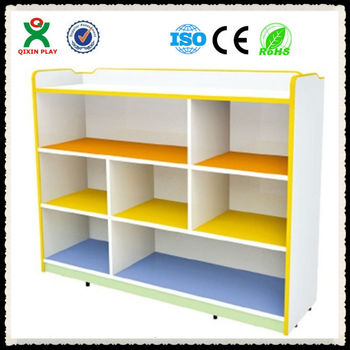 2013 Preschool Multif Used Mdf Wooden Cheap Storage Cabinet For