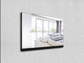 6mm two way miorr glass sheet price for magic miror tv screen