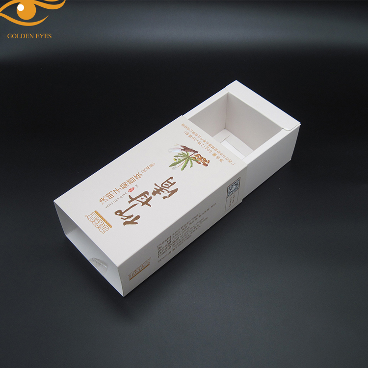 Coated Paper Material Tea Packaging Box