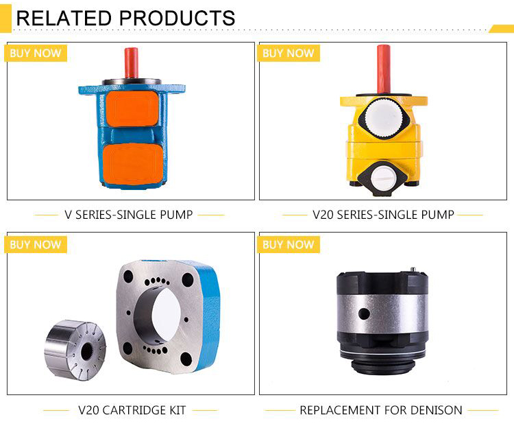 25VQ Positive Displacement Pump for Injection Moulding Machine