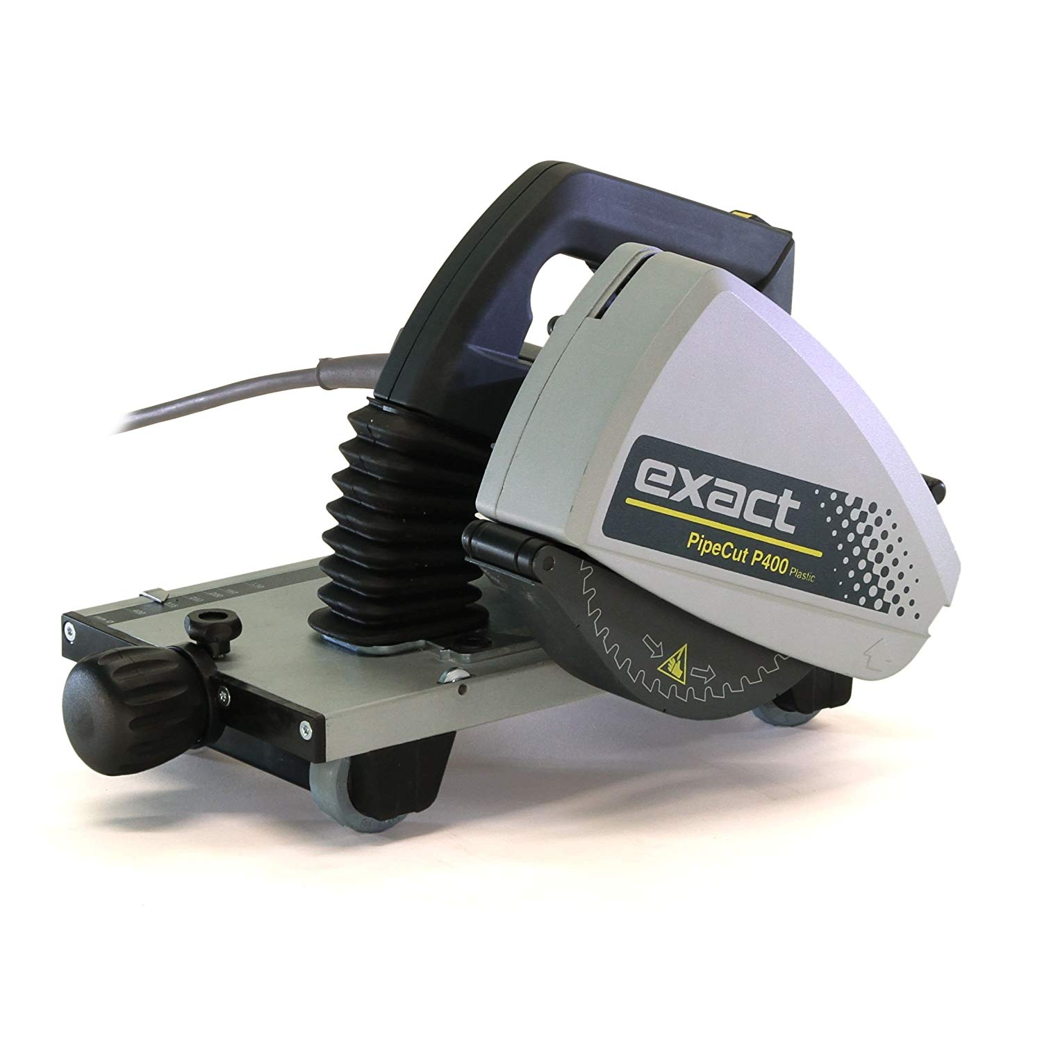 Exact Tool 7010401US P400 US Pipe Cutting System with Cut & Bevel Blade for Cutting Plastic Pipe