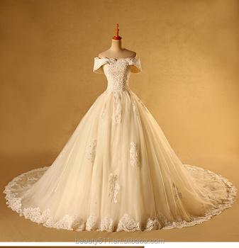 2017 Simple Design Formal Capped Sleeve Wedding Dresses Elegant Bridal Gowns Ts173 Buy Design Fashion Formal Dress Simple Dresses For Prom Beautiful