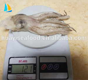 New Arrival Catching Cleaned Frozen IQF Illex Squid Tentacle Head with Great Quality