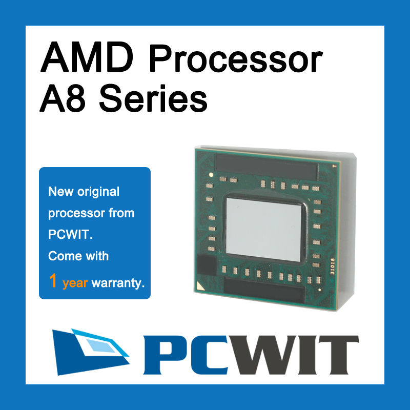 Brand New AMD Quad Core A8 3550MX APU with Radeon HD 6620G processor AM3550HLX43GX 2.0 GHz CPU wholesale retail