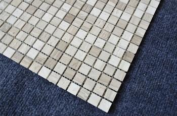 Mosaico di piastrelle per pavimenti piccolo cubo modello