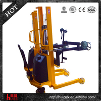 Warehouse Semi Electric Oil Drum Truck with Scale
