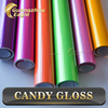High Quality Glossy Chrome Candy Car Vinyl Wrap With Air Bubble Free