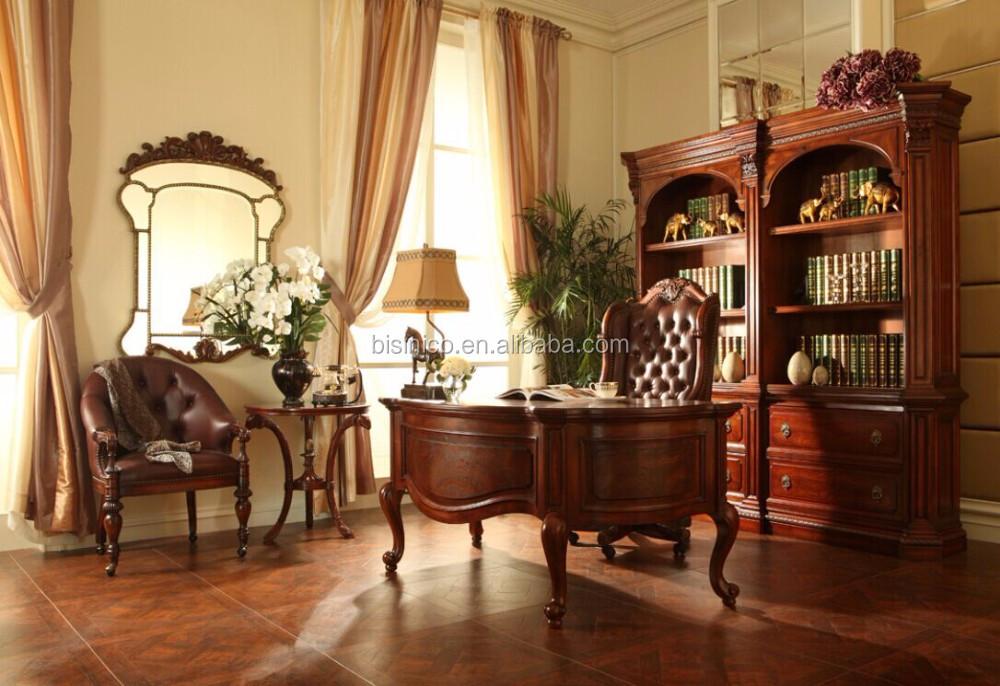 Rétro design mobilier de bureau À domicile luxe français louis xv