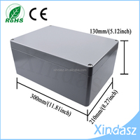 300*210*130 Big Waterproof Electronic Junction Project Box die cast aluminum Enclosure Case