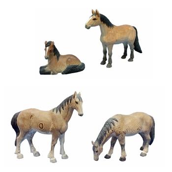 Decoration Antique Wood Carving Horse