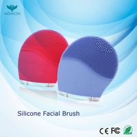 New facial cleansing brush style portable deep cleansing silicone electric facial brush silicone