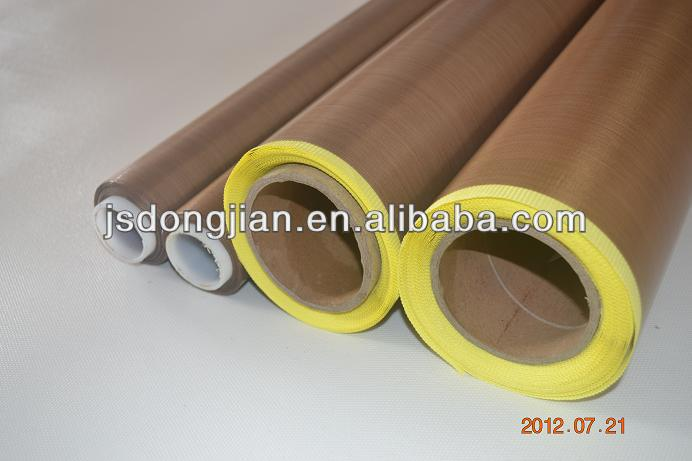 PTFE Coated Fiberglass Fabric with Release Paper, Heat-resistant, Non-stick