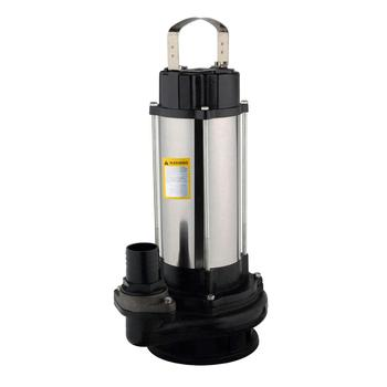 Single Phase High Pressure Electric Submersible Sewage Pump For Dirty Water