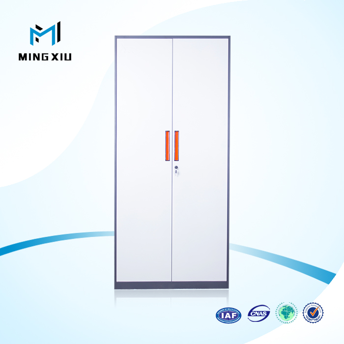 China mingxiu 2 swing door cheap storage <strong>cabinet</strong> / steel cupboard price