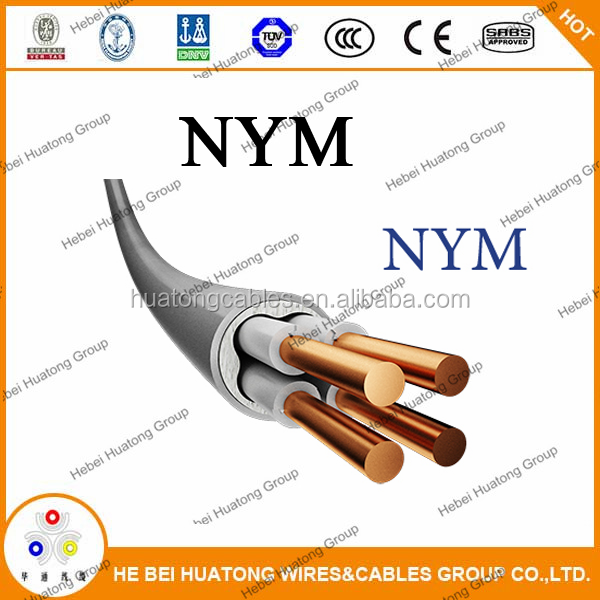 PVC insulated and sheathed cable NYM