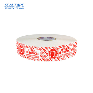 High quality branded packing cosmetic jar seal tape