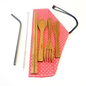 High Quality Eco-Friendly China Supplier Bamboo Dinnerware Sets Bamboo Knife Fork And Spoon
