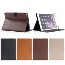 Retro Design Crazy Horse PU Leather Case for iPad 2017 9.7 inch New